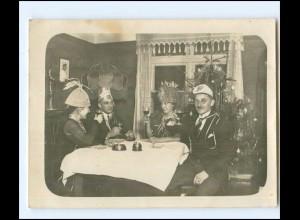 Y14301/ Sylvester Neujahr Privat Foto ca.1920