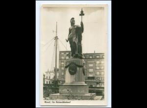 U8745/ Memel Das Nationaldenkmal Foto AK ca.1938 Litauen