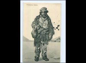 Y14300/ Polnischer Bettler Polen 1. Welkrieg AK 1916