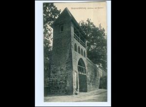 U8514-170./ Neubrandenburg Wickhaus am Bahnhof 1915 AK