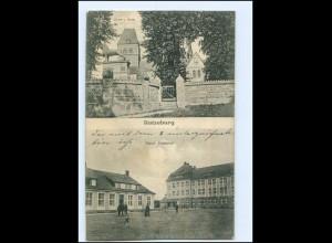 U8490/ Ratzeburg Löwe und Dom Neue Kaserne 1916 AK