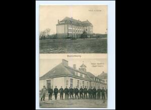 U8410/ Ratzeburg Neue Kaserne Jäger-Kasino AK 1916