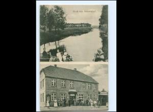 U8491-2200/ Gruß aus Neuendorf 1918 AK