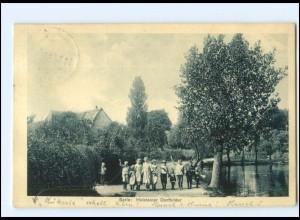 Y14006/ Aus Serie: Holsteiner Dorfbilder, Kinder 1909 AK