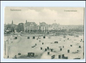 U8664/ Swinemünde Pommern AK ca.1910