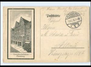 U8882/ Flensburg Gewerkschaftshaus AK 1915
