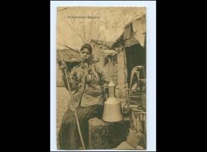 U8519/ Mazedonien Bettlerin AK 1917