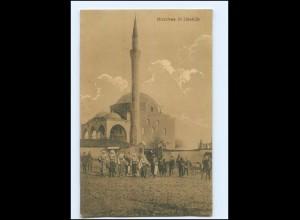 U8518/ Moschee in Üsküb Skopje Mazedonien AK 1917