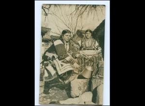 U8888/ Mazedonien Trachten Foto AK 1. Weltkrieg 1917