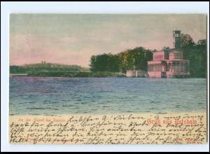XX006224/ Gruß aus Potsdam Havel und Sacrow 1900
