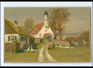 XX006359/ Paul Hey Ostern Litho AK Verlag: Meissner & Buch ca.1910