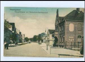 XX006233-167/ Hennigsdorf Hauptstr. Gemeinde-Badeanstalt AK 1919