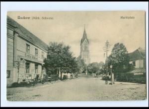 XX006248-153/ Buckow Märk. Schweiz Marktplatz AK ca.1912