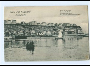 Y14231/ Helgoland Nordostspitze AK 1910