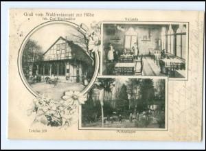 Y14332/ Hameln Waldrestaurant zur Höhe AK 1916