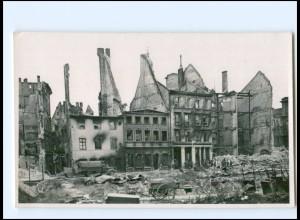 U8845/ Riga zerstört Foto AK 1941 2. Weltkrieg Lettland