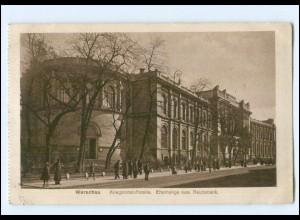 U8790/ Warschau Kriegsrohstoffstelle 1918 AK Reichsbank Polen