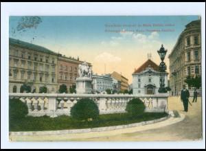 U8784/ Pozsony Krönungshügel AK Slowakei 1915