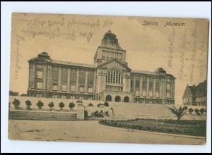 Y14256/ Stettin Museum AK Pommern 1924