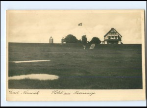 U8799/ Insel Neuwerk Hotel zur Meerwoge Foto AK 1940