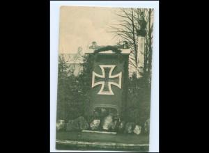 U8816/ Elmshorn Ehrenmal Wohlfahrtskarte Rotes Kreuz 1918 AK