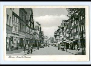 XX006469-3150/ Peine Breitestraße AK ca.1950 Tempo-Dreirad