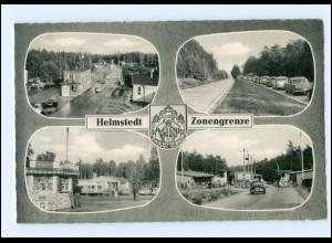 XX006843/ Helmstedt Zonengrenze DDR Grenze Autos ca. 1960-65