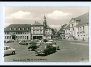 XX006465-4570/ Quakenbrück Markt Autos ca.1965