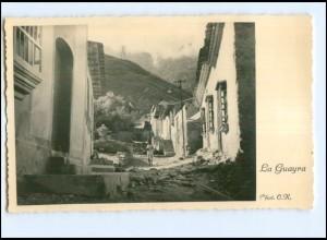 XX008913/ La Guayra Paraguay Foto AK ca.1935