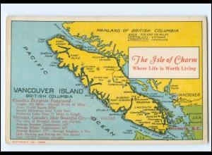 XX007482/ Mainland of British Columbia Vancouver Island Kanada AK ca.1925