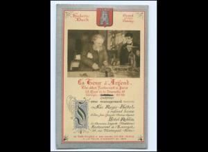 XX008905/ La Tour d`Argent The oldest Restaurant in Paris AK ca.1920