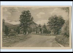 XX006413-998/ Bad Thal Bahnstation Bahnhof AK 1919