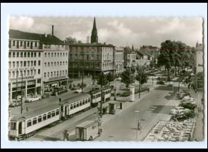 XX006687/ Krefeld Ostwall Straßenbahn AK ca.1960