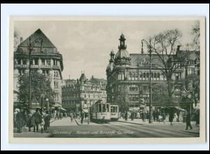 XX006686/ Düsseldorf Straßenbahn Konzertcafe Cornelius AK 1942