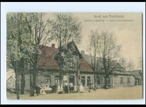XX009811/ Harburg Neugraben-Fischbeck Fischbek Oelker`s Gasthof AK 1911