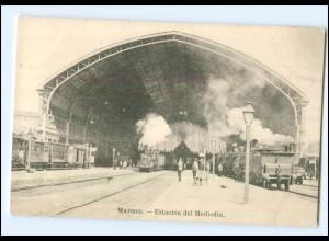 XX007491/ Madrid Estacion del Mediodia Spanien Eisenbahn AK ca.1912