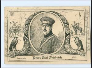 Y14454/ Prinz Eitel Friedrich Kriegsjahr 1914
