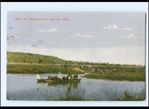 Y14408/ Über den Mlagarassi ins Land der Waha Deutsch-Ostafrika AK 1934
