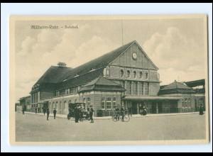 XX006980/ Mülheim a.d. Ruhr Bahnhof 1912 AK