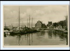 XX006847/ Wismar Hafen Foto AK ca.1935