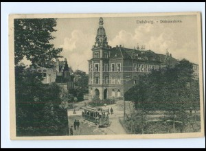 XX006983/ Duisburg Diakonenhaus Straßenbahn 1913 AK