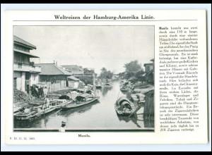 XX008639/ Manila Philippinen - Dampfer Cleveland Hamburg Amerika-Linie AK 1912