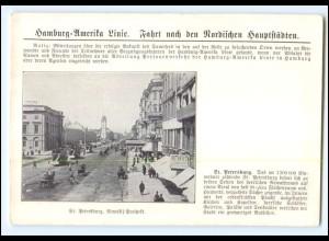 XX008920/ St. Petersburg Rußland Hamburg-Amerika-Linie Ak ca.1900