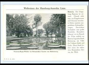 XX10189/ Batavia Indonesien Dampfer Cleveland Hamburg Amerika-Linie AK 1912