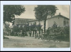 XX007030-2061/ Kastorf Aug. Dohrendorff´s Gasthof Kutsche 1907 AK