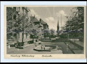 XX007192/ Hamburg Wilhelmsburg Kirchenallee AK ca.1940