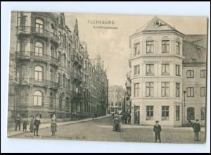 XX007044/ Flensburg Schiffbrückstraße 1907 AK