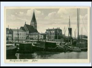 XX006910-183/ Barth an der Ostsee Hafen AK 1938