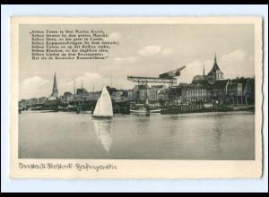 XX006995-18./ Rostock Hafen 1939 AK