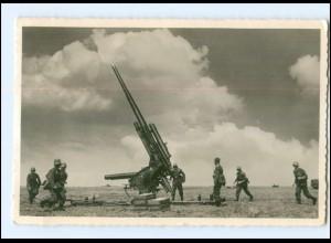 XX007196/ Flakartillerieschule Wustrow Soldaten Foto AK ca.1940